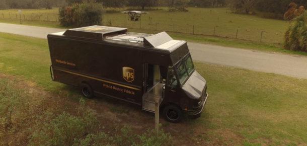 UPS, Drone ile kargo teslimini test ediyor