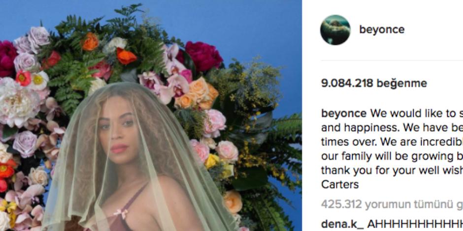 Beyonce, Instagram'ın en çok beğenilen fotoğrafına imza attı