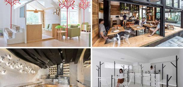 Asya'dan 10 farklı kahve mekanı tasarımı