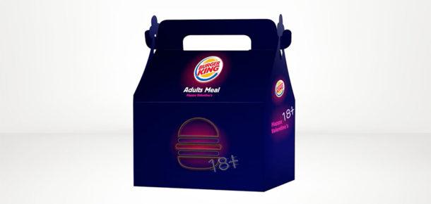 """Burger King'den yetişkinlere özel """"Sevgililer Günü"""" menüsü"""