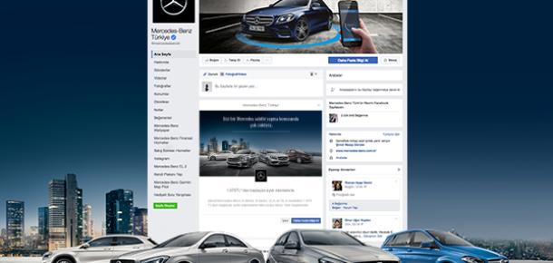 Mercedes-Benz Türk'ün yeni otomobil satış kanalı: Facebook Lead Ads