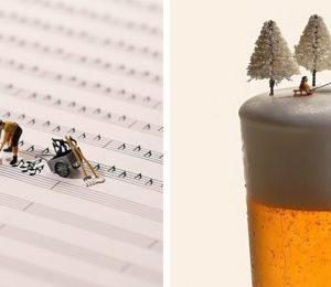 Japon sanatçının gerçekten etkileyici 13 minyatür sanat eseri