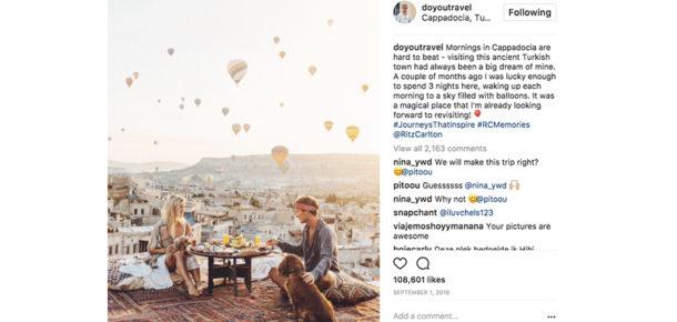 Instagram'ın ünlü çifti her bir reklam paylaşımından yaklaşık 9 bin dolar kazanıyor