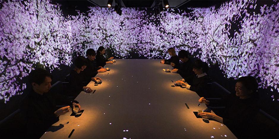Mevsimlere göre değişen interaktif restoran