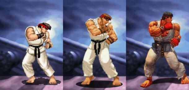 Street Fighter karakterlerinin 30 yıllık evrimi