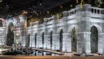 Edoardo Tresoldi, Abu Dhabi'de mimari tasarım grafiğini tel örgülerle şekillendirdi!