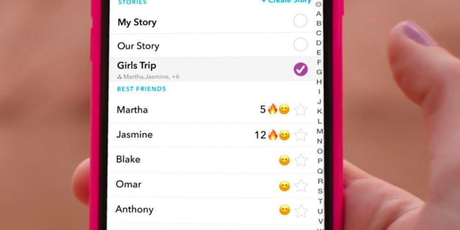 Facebook ile sürdürdüğü Hikayeler savaşında Snapchat'in son hamlesi