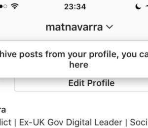 Instagram'ın yeni özelliği kısa dönemli ayrılık yaşayanlar için: Arşiv