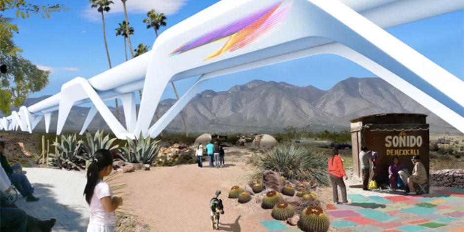 Trump'ın Meksika duvarına alternatif öneri: Güneş enerjisi ile çalışan Ecotopia
