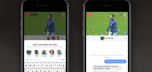Facebook, canlı yayınlarına konuk alma ve canlı yayına kapalı sohbet özelliklerini ekledi