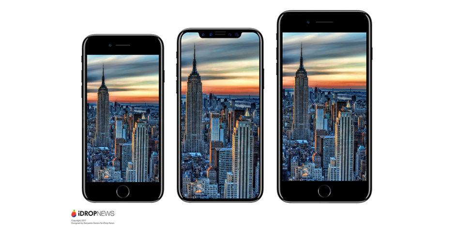 iPhone 8'in sızıntılara göre tasarlanmış görüntüleri ortaya çıktı