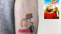 Retro Minimal dövmelerinin hayranı olduğumuz bir sanatçı: Alican Görgü
