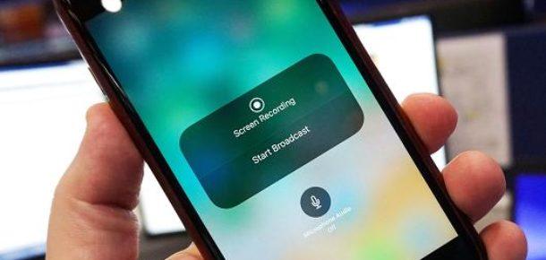 iOS 11 için canlı yayın özelliği test ediliyor