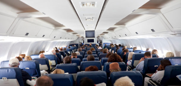 Uçaklardaki kirli hava insanları hasta ediyor