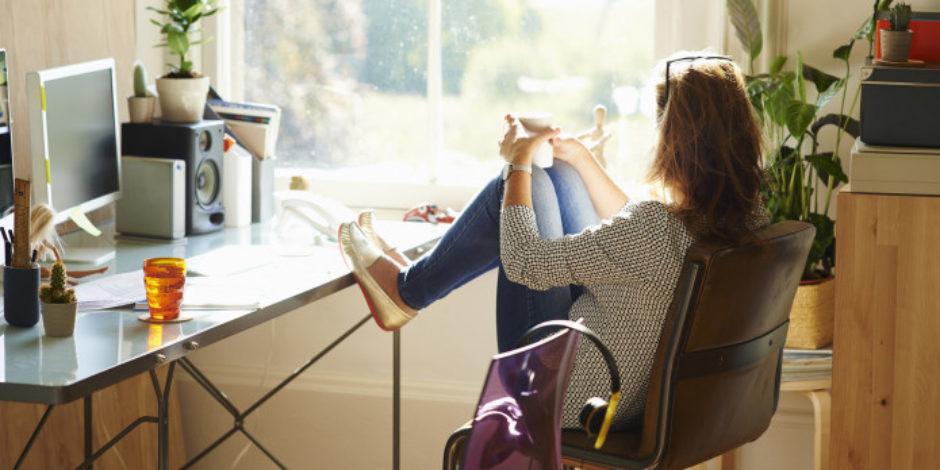 Evden çalışan insanlar, daha mutlu!