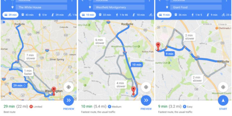 Google, şimdi de sizin için park yeri bulacak