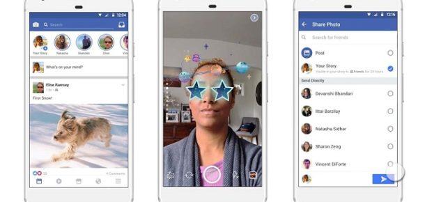 Facebook, Stories kamerasına yeni özellikler ekledi
