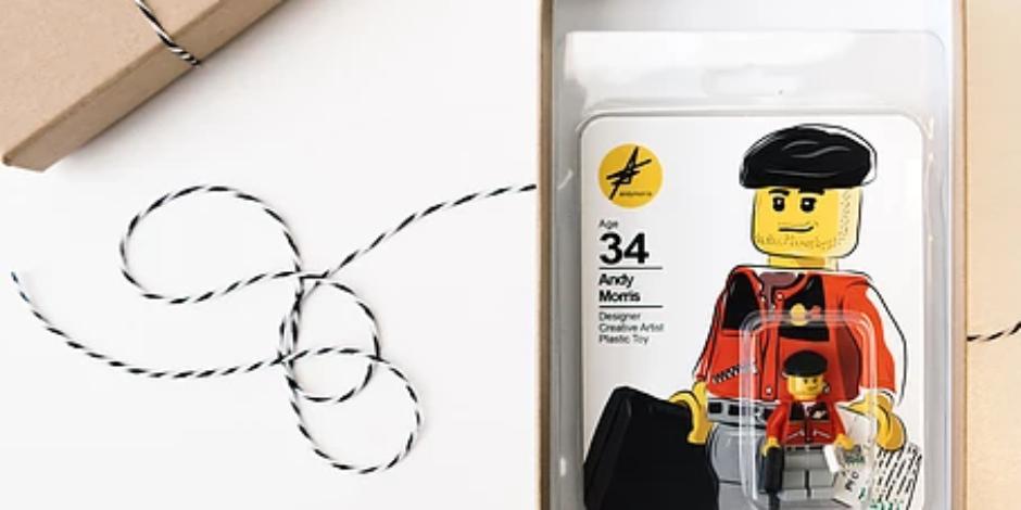 Bir tasarımcının CV'si: LEGO figürü