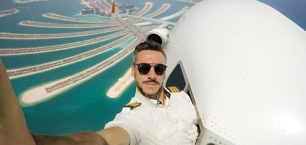 Pilot, fotoğraflarını Photoshopladığını söylese de kullanıcılar buna inanmamakta ısrarcı