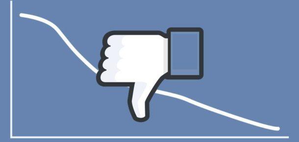 Facebook'ta büyüme hızı yavaşladı