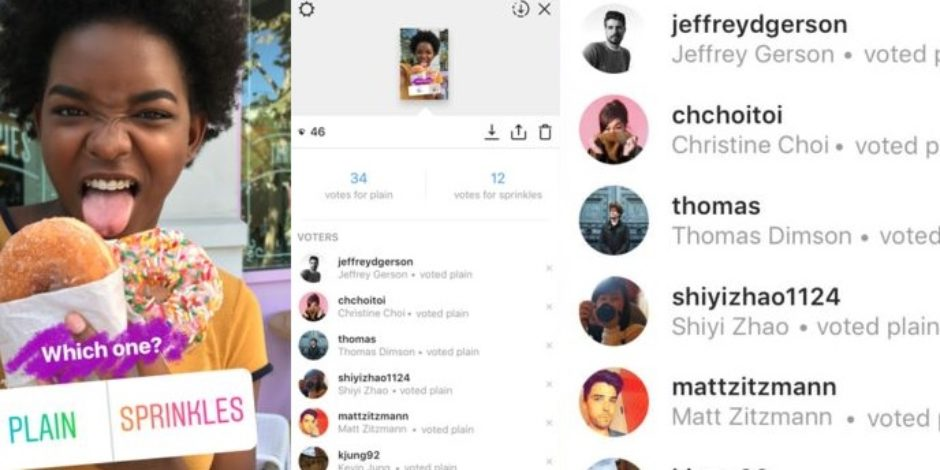 Instagram anketlerinde verdiğiniz cevaplar anonim değil, ve bu iyi bir şey