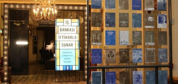 Türkiye İş Bankası'nın 93 yıllık reklam yolculuğu sergiye dönüştü