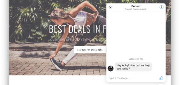Facebook, işletmelerin web siteleri için Messenger eklentisini tanıttı