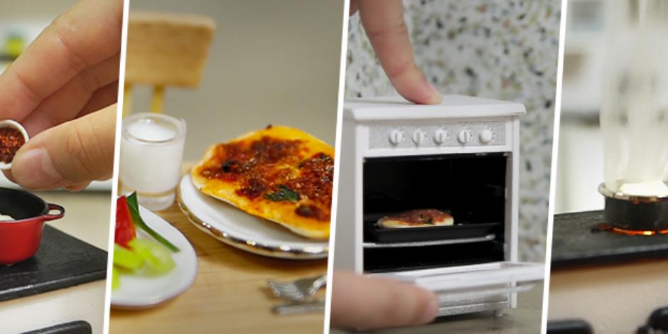 Porsiyonları küçük bir yemek kanalı: Mini Türk Mutfağı