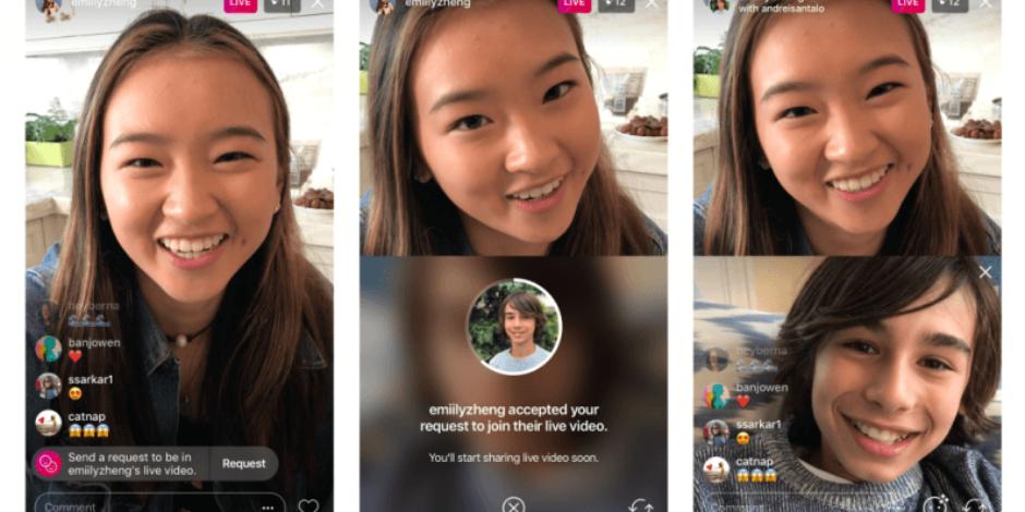 Instagram'da canlı yayınlara katılma talebi gönderebileceksiniz