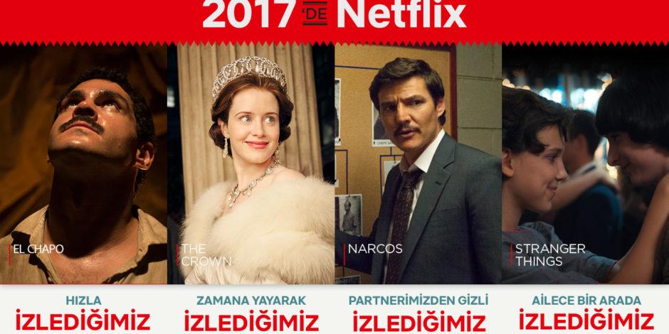 Netflix 2017 raporu izleme alışkanlıklarımızı gözler önüne serdi [İnfografik]