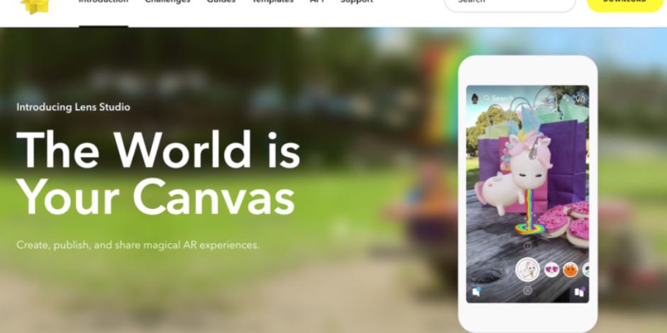 Snapchat, artırılmış gerçeklik geliştirici platformu Lens Studio'yu tanıttı