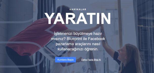 Facebook Blueprint'te, Facebook eğitimleri artık Türkçe