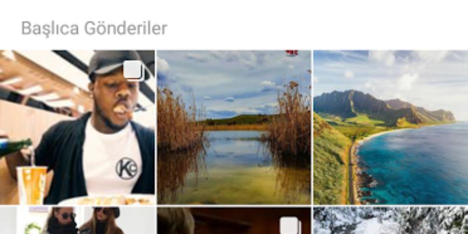 Instagram'da sadece hesapları değil hashtagleri de takip edebileceksiniz