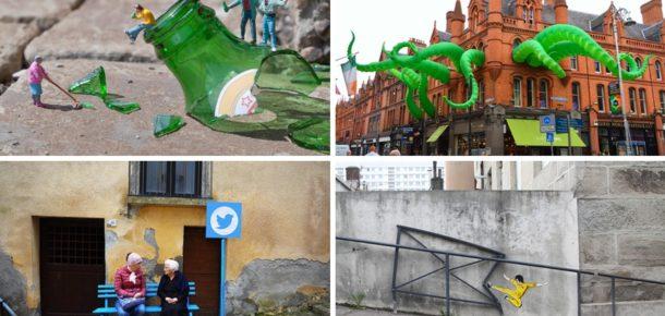 Sokak sanatçılarının muhteşem eserleri