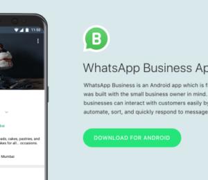 WhatsApp'ın işletmelere özel uygulaması WhatsApp Business yayına girdi