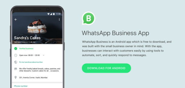 WhatsApp'ın işletmelere özel uygulaması WhatsApp Business yayına girdi