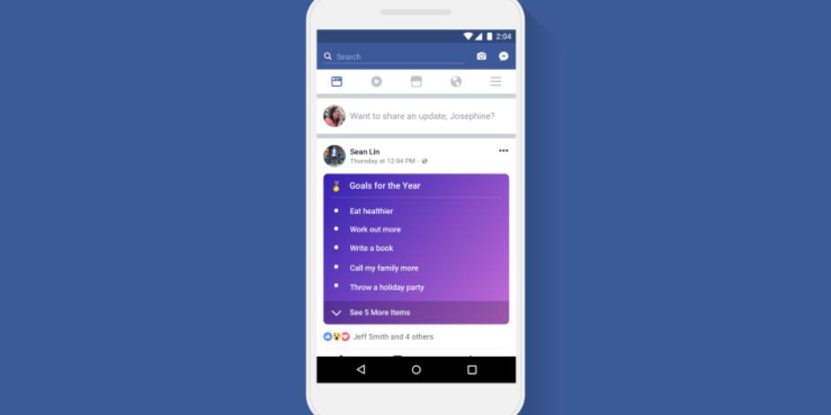Facebook yeni özelliği Listeler ile daha fazla kişisel paylaşımın önünü açıyor