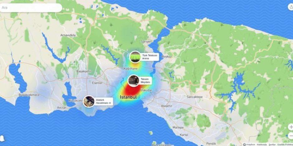 Snapchat'in Snap Map özelliğine internetten erişilebilecek