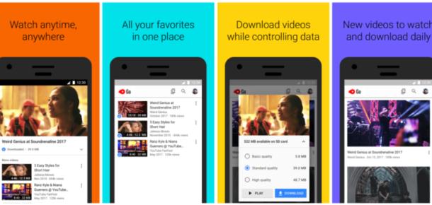 YouTube videolarını indirebileceğiniz YouTube Go Türkiye'de yayına giriyor